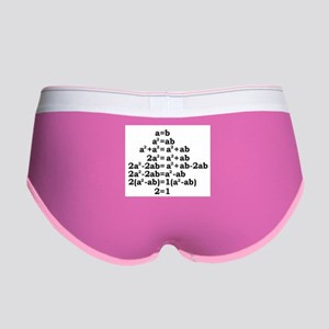 math genius Women's Boy Brief